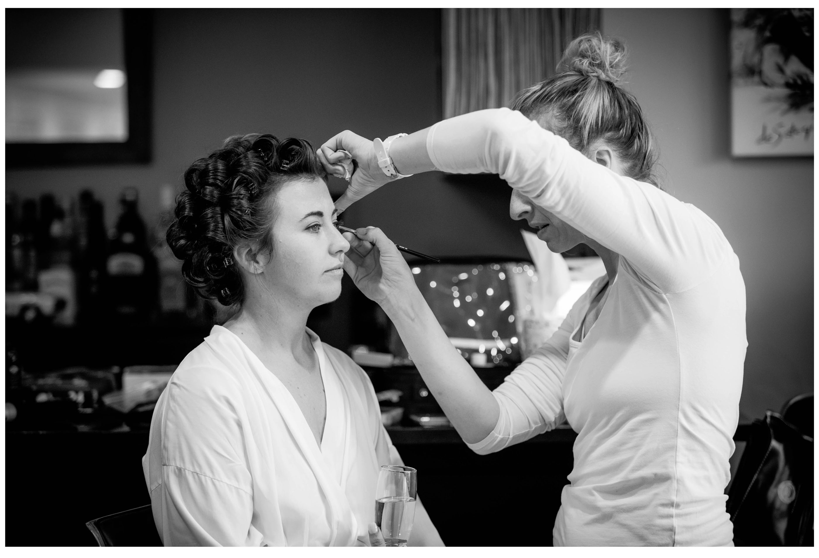 Kumeu Wedding bride has wedding preparation