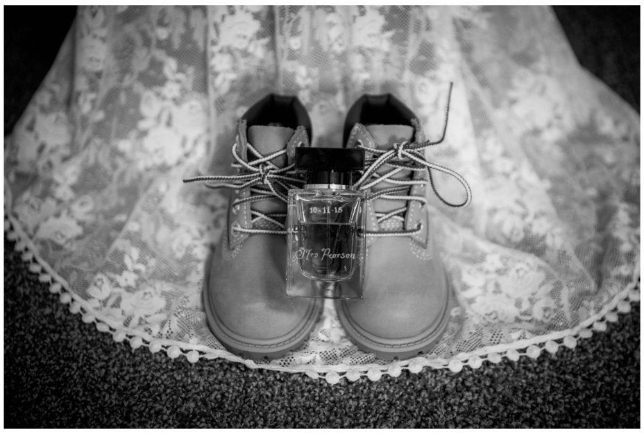 Unusual wedding shoes