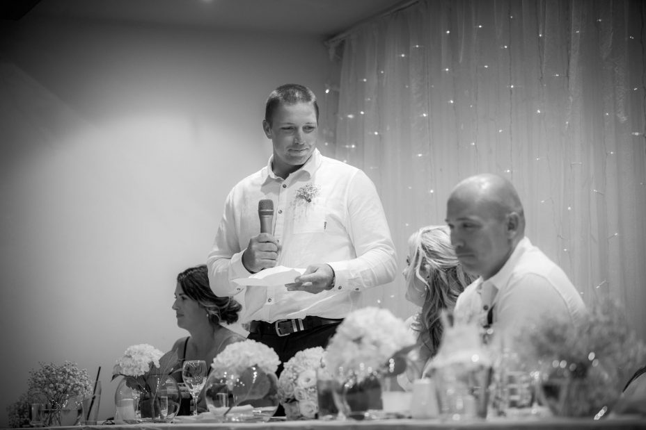 Best man wedding speech at McHugh's Takapuna